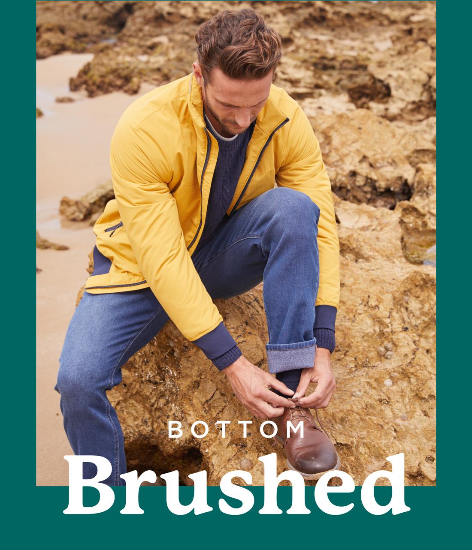 Bottom Brushed